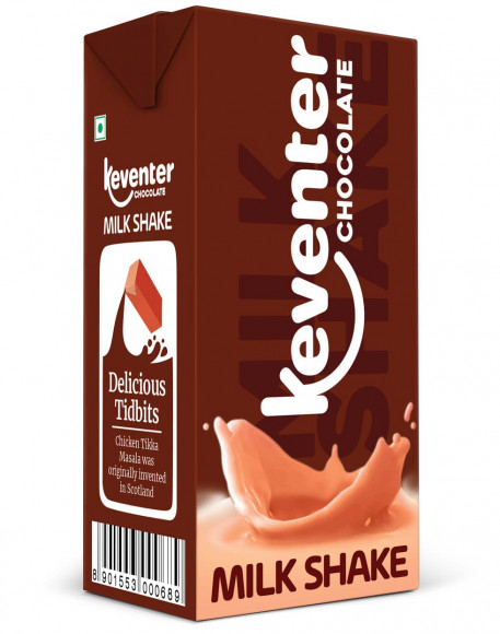 Keventer CHOCOLATE MILKSHAKE 150 ML Pack